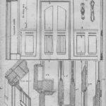 Эскизы дверей (дореволюционное издание)